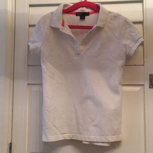 White polo gap kids shirt
